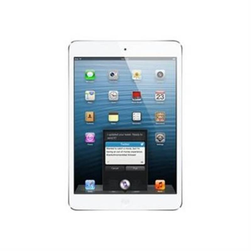 Apple 16GB iPad Mini with Wi-Fi and Cellular (White and Silver)