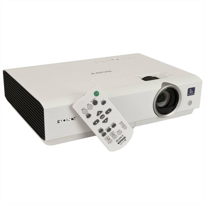 Sony VPLDX120 2600 Lumens XGA 3LCD Projector