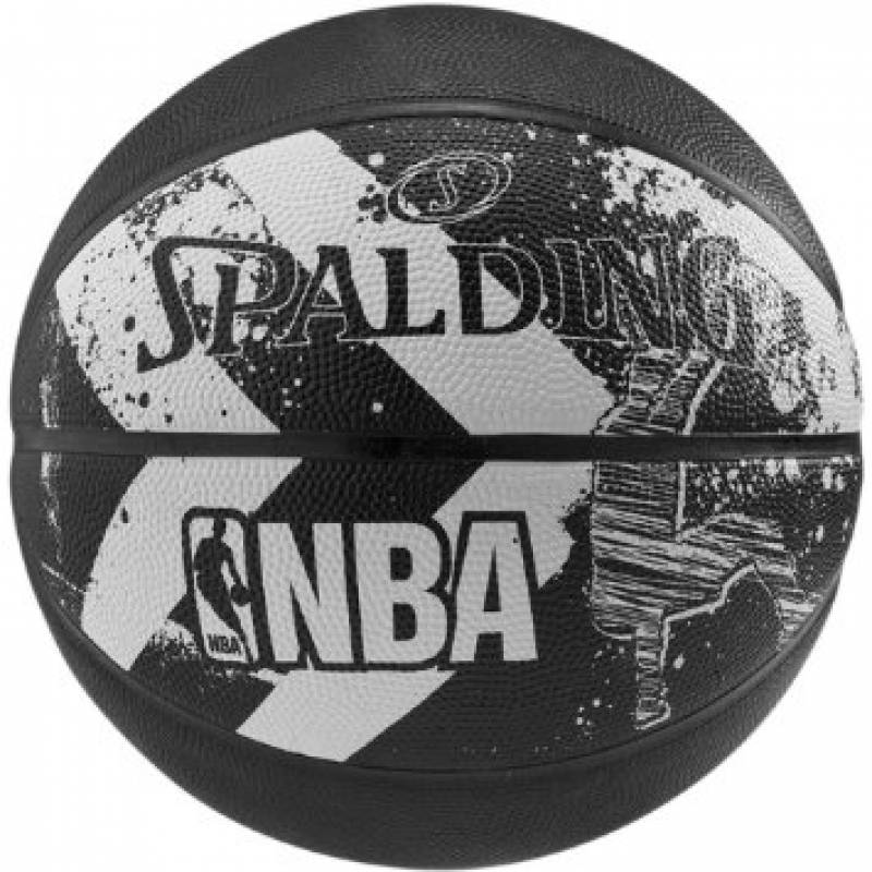Spalding 2015 Alley-Oop Basketball Size- 7(Black)