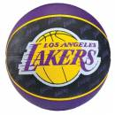 Spalding Los Angles Lakers Basketball  Size- 7