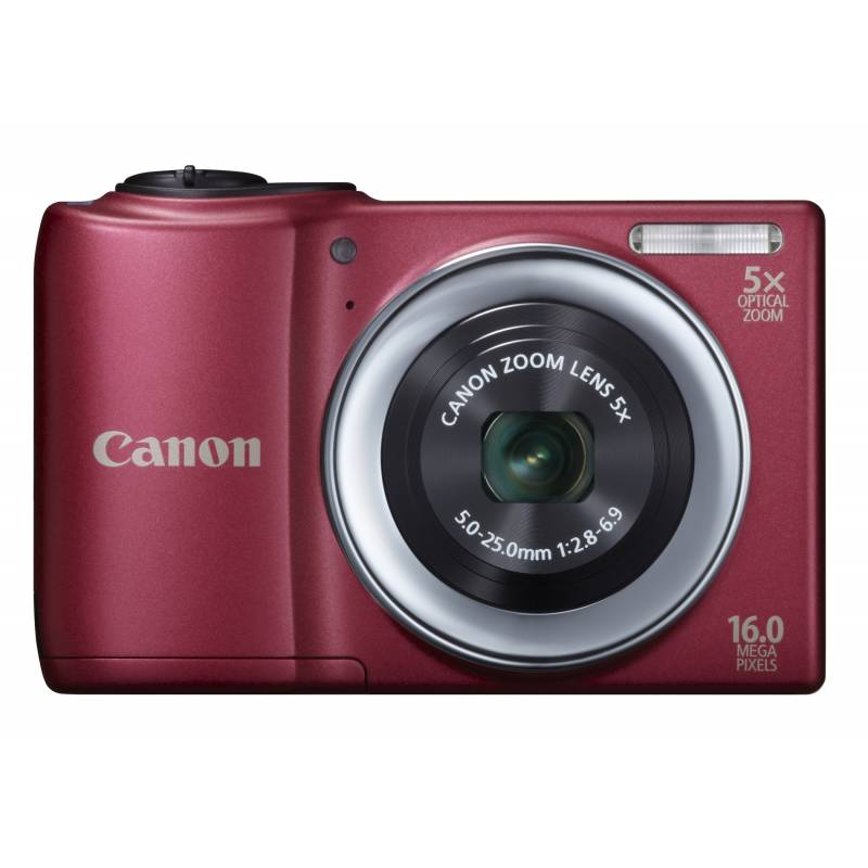 CANON  POWERSHOT A810 PONIT & SHOOT (RED)