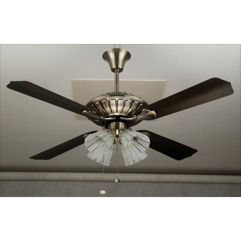 DESIGNER Ceiling Fan REGALIA BRASS