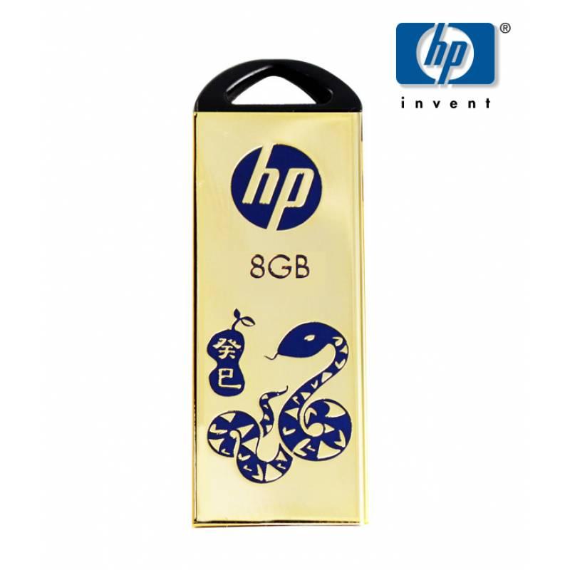 HP V229 8GB Pen Drive (Golden)