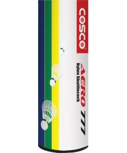 Cosco Aero 777 Nylon shuttlecocks(Pack of 6)